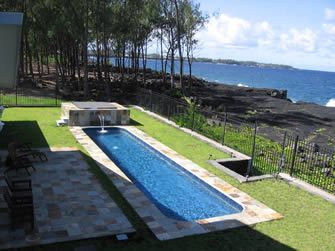 Hale Mar - Absolute Oceanfront Luxury Villa W/ Pool, Hottub Near Volcano