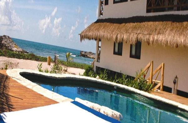 Tulum quintana roo vacation rental house mexico el pez for Villas quintana roo