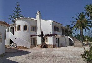 Palm View Villa in Javea